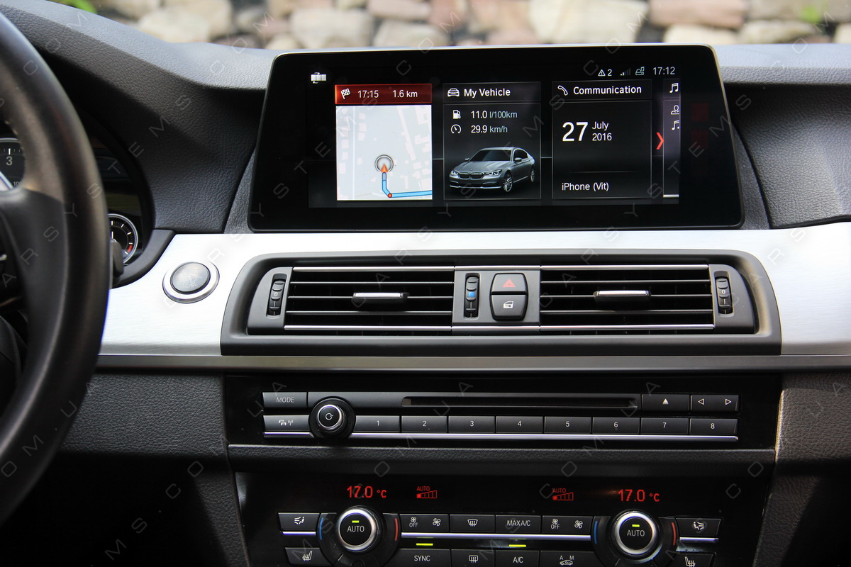 NBT EVO G30 with id5 menu and CarPlay in F10